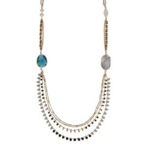 Chloe + Isabel Starry Night Long Layered Necklace